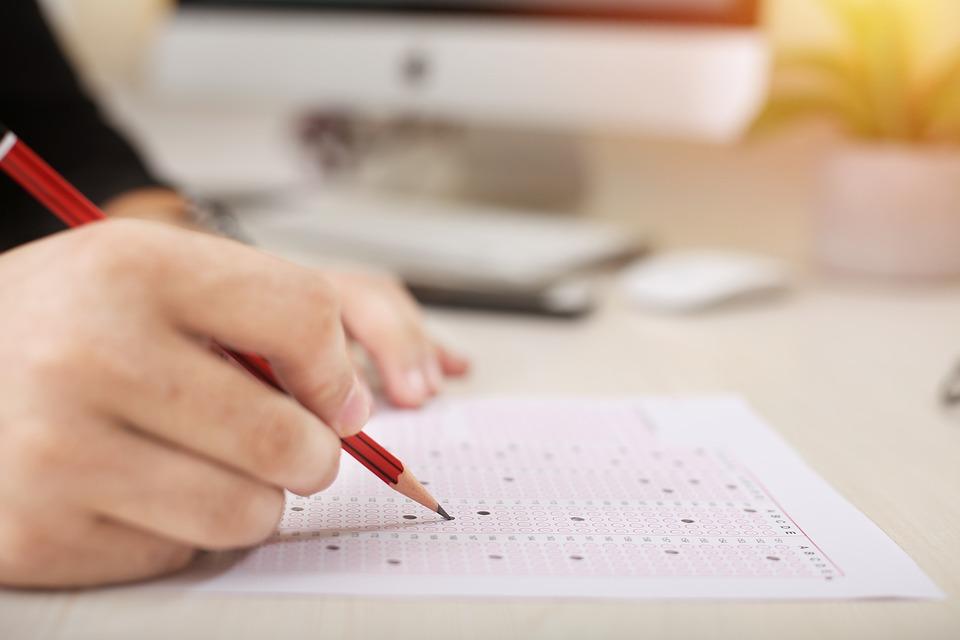examen oposicion tipo test