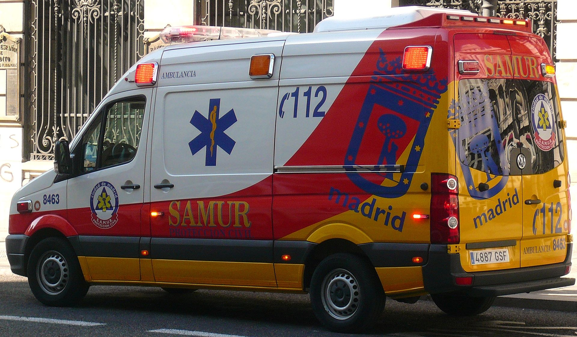 Examen test corregido SAMUR-Protección Civil